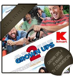 Grown Ups 2 and Kmart